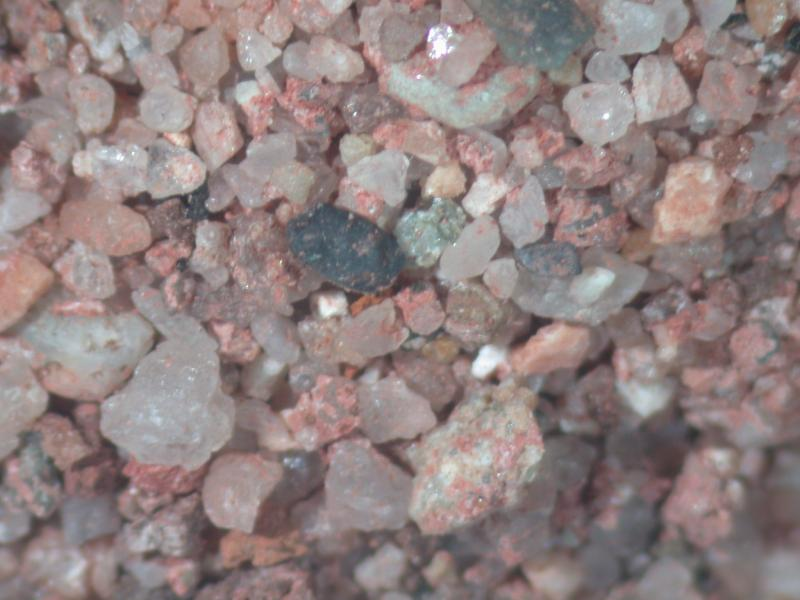 Sand extracted from historic pointing mortar